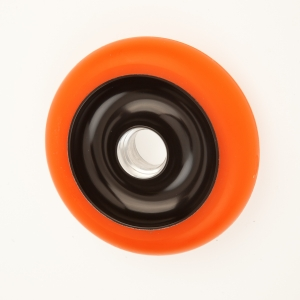 100 and 110mm Anodized cores, Black/Orange