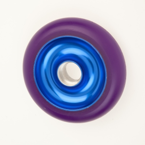 100 and 110mm Anodized cores, Blue/Purple
